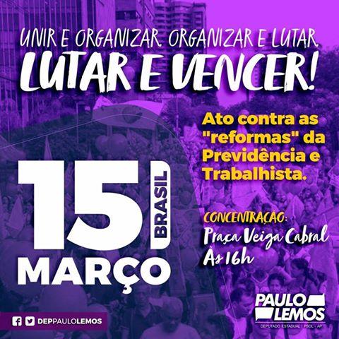 Deputado Paulo Lemos PSOL/AP