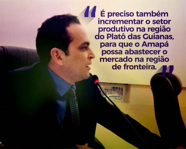 Paulo lemos cobra ações do GEA sobre taxa cobrada aos brasileiros na ponte Binacional 01